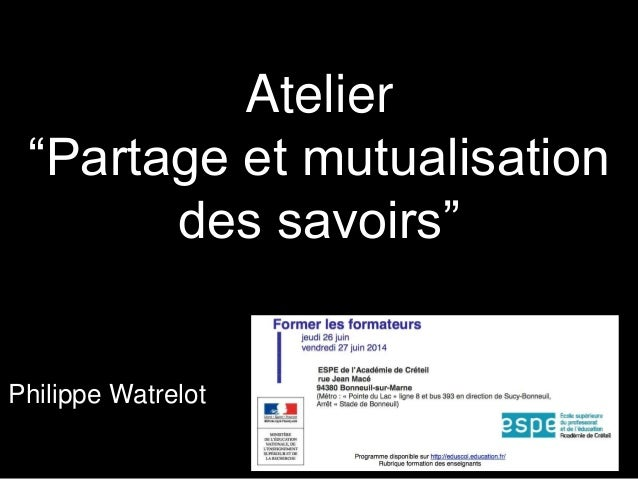 Ph w formation-formateurs-echanges-mutualisation