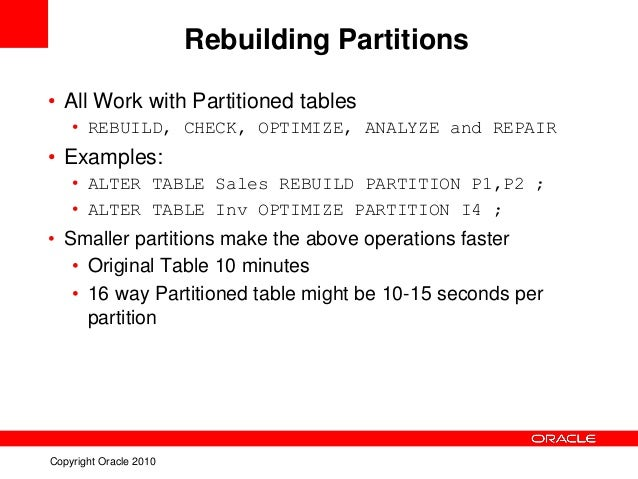 my sql partitioning essay In summary: with tokudb in the picture there's almost no reason to use  the  mysql partition infrastructure is basically used for single-server.