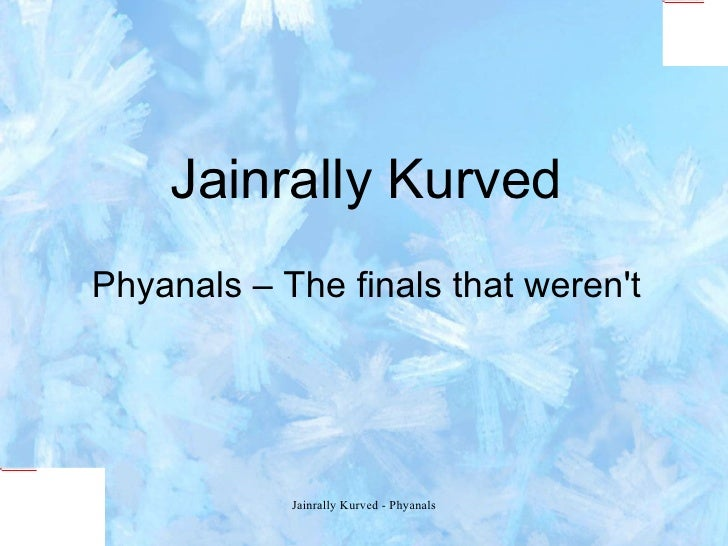 Phyanals