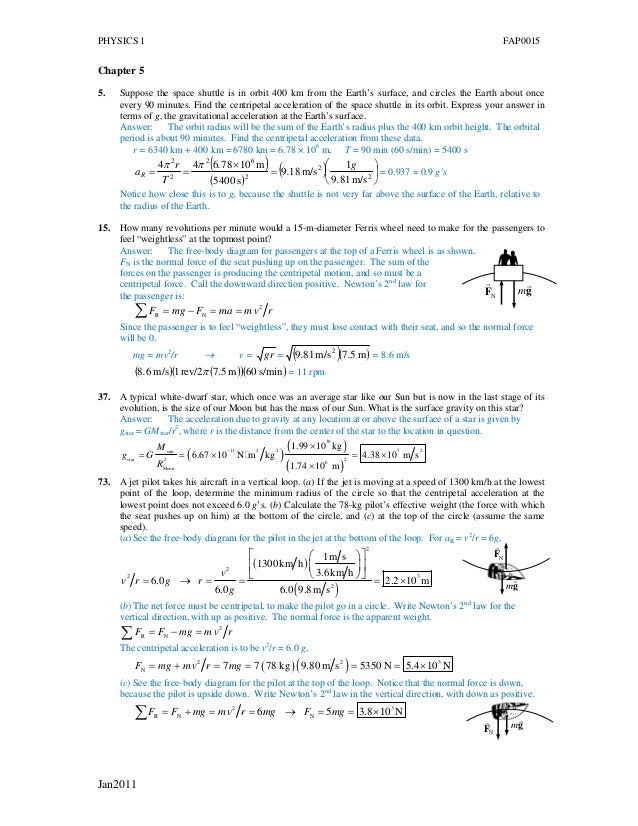 Phy i assign&answers_2011