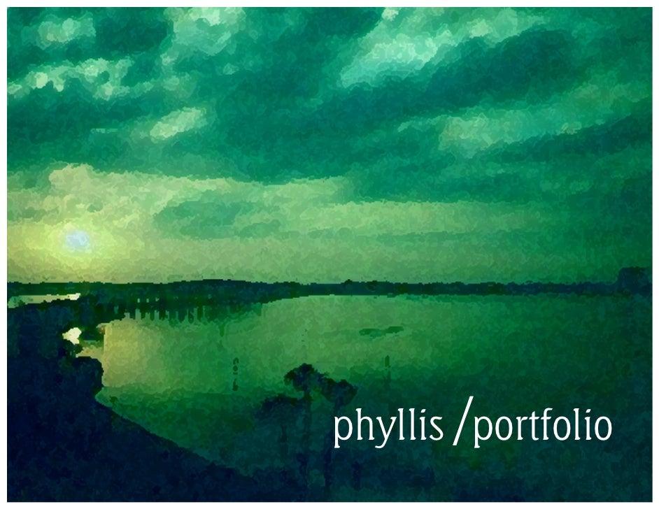 Phyllis Kaplan Portfolio
