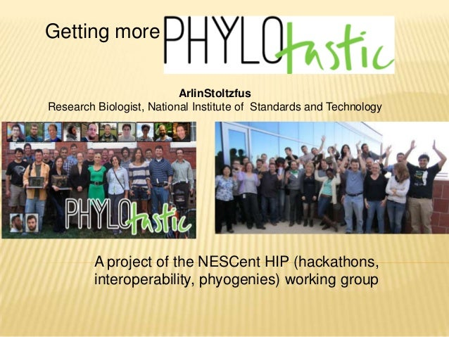 Getting moreArlinStoltzfusResearch Biologist, National Institute of Standards and TechnologyA project of the NESCent HIP (...