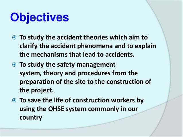 Phd thesis in occupational health and safety
