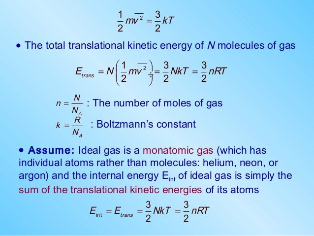 Translational Kinetic Energy Formula Phys2 ch4-kineticsgas