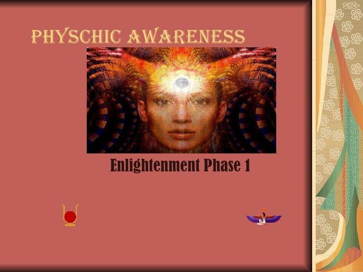Physchic awareness & enlightenment course 1
