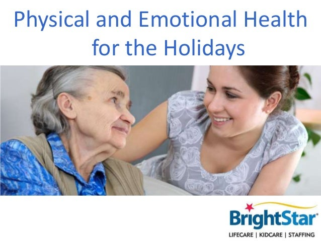 Physical and Emotional Health for the Holidays