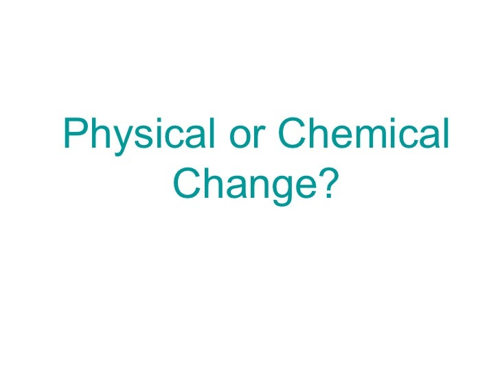 physical and chemical change worksheet – Chemical Vs Physical Change Worksheet