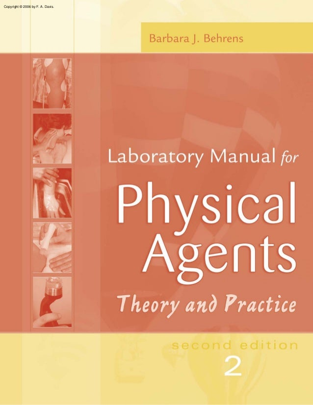 Physical agents laboratory manual 2