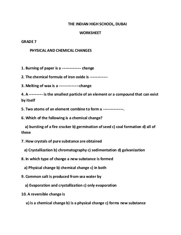 Printables Chemistry Worksheets For High School free chemistry worksheets davezan printables middle school safarmediapps