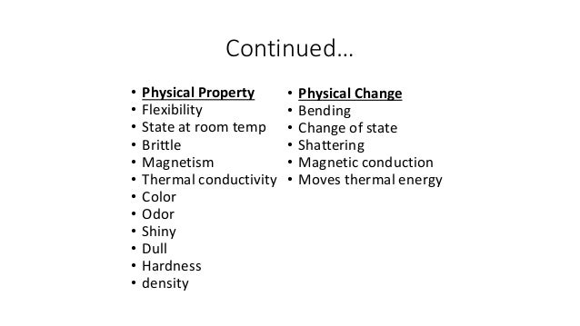 List  Physical Properties Of Water
