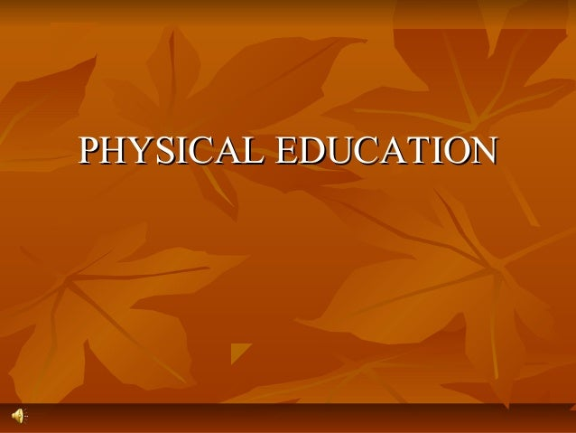 Physical education(1)