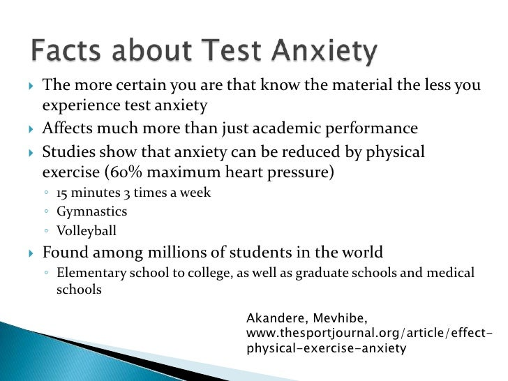 The Parents Guide to Helping Anxious Children Cope with Test Anxiety