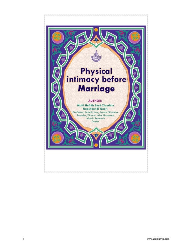 Islamic ruling on physical intimacy before marriage