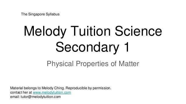 properties of matter essay