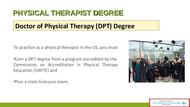 I am interested in being a physical therapist.....curious?