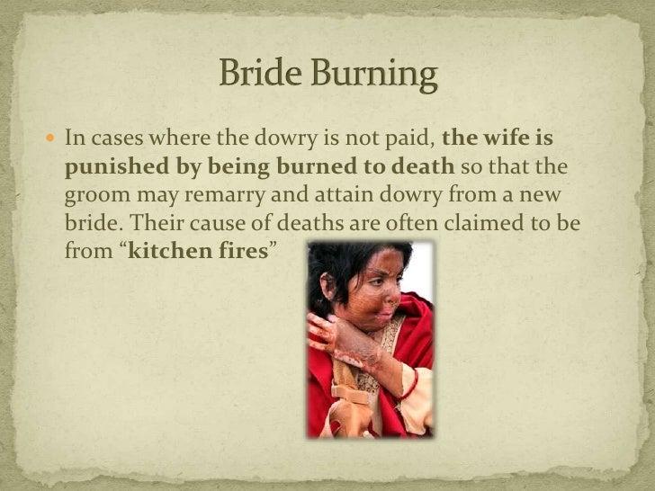 dowry death essay
