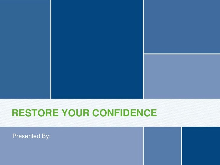 RESTORE YOUR CONFIDENCE Presented By:Stress Urinary Incontinence (SUI)