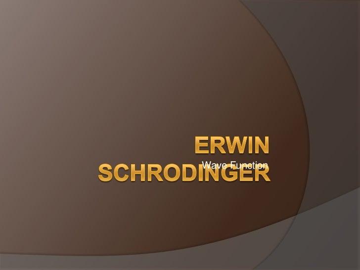 SCHRODINGER; HEISENBERG; MAYER (Female Physicist)
