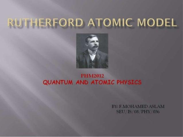 Physics,Quantum and atomic physics