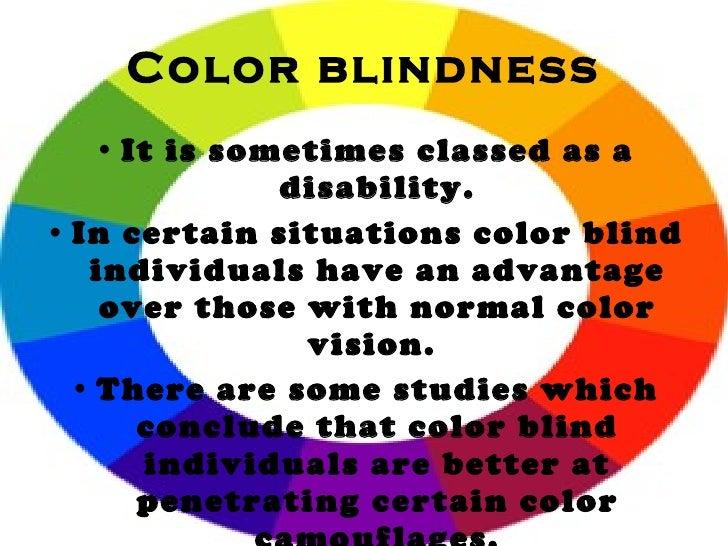 Is Color Blindness A Disability 28 Images Colour