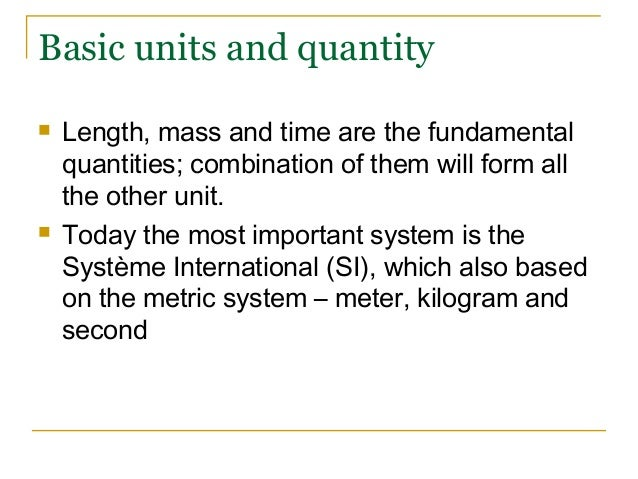 What is the importance of standard units in everyday life?