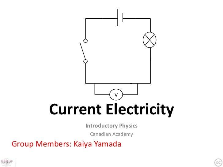 Current Electricity Presentation