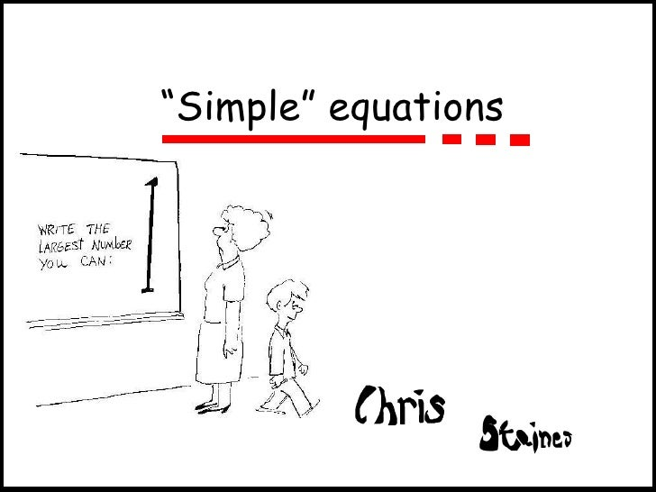 Simple equations and logs