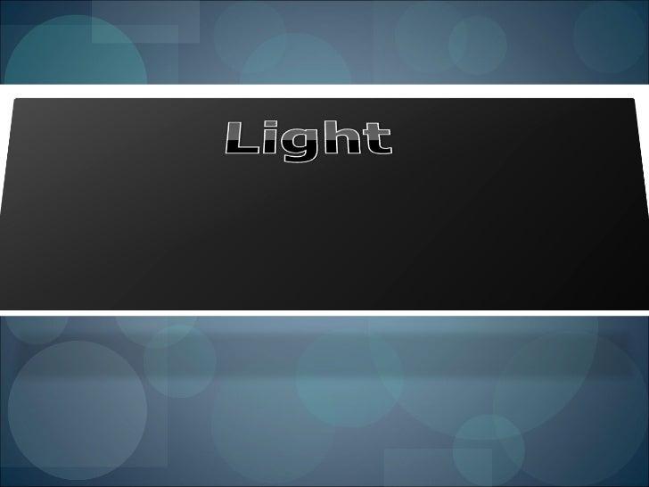 Physics Light
