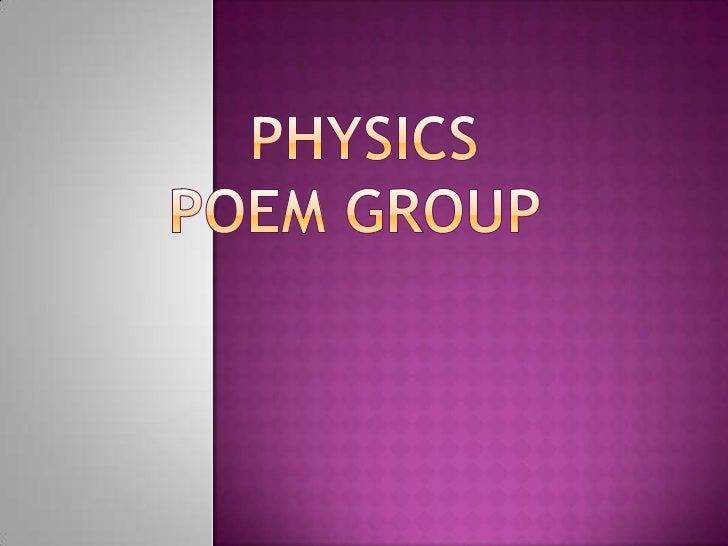 Physicspoem Group<br />