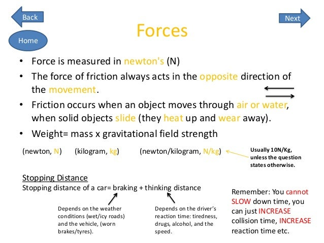 GCSE AQA PHYSICS UNIT2