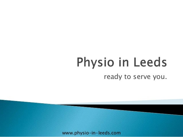 Physio in Leeds Improving sports performance.