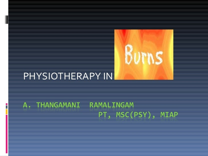 PHYSIOTHERAPY IN