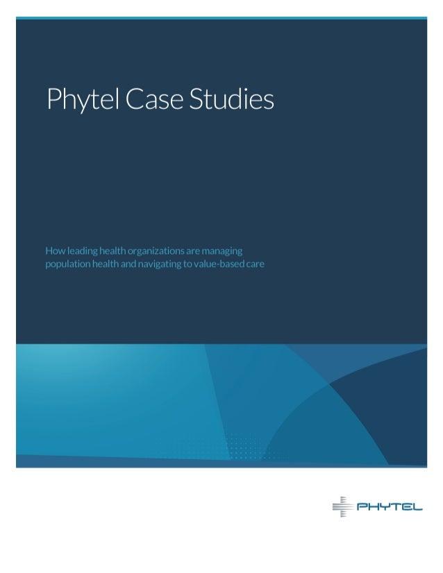 Population Health Management Case Studies