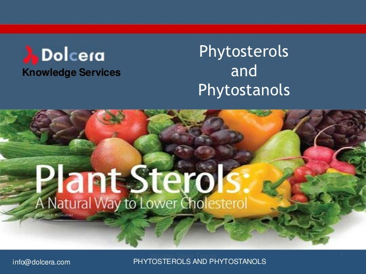 Phytosterols  Knowledge Services                     and                                     Phytostanols                 ...