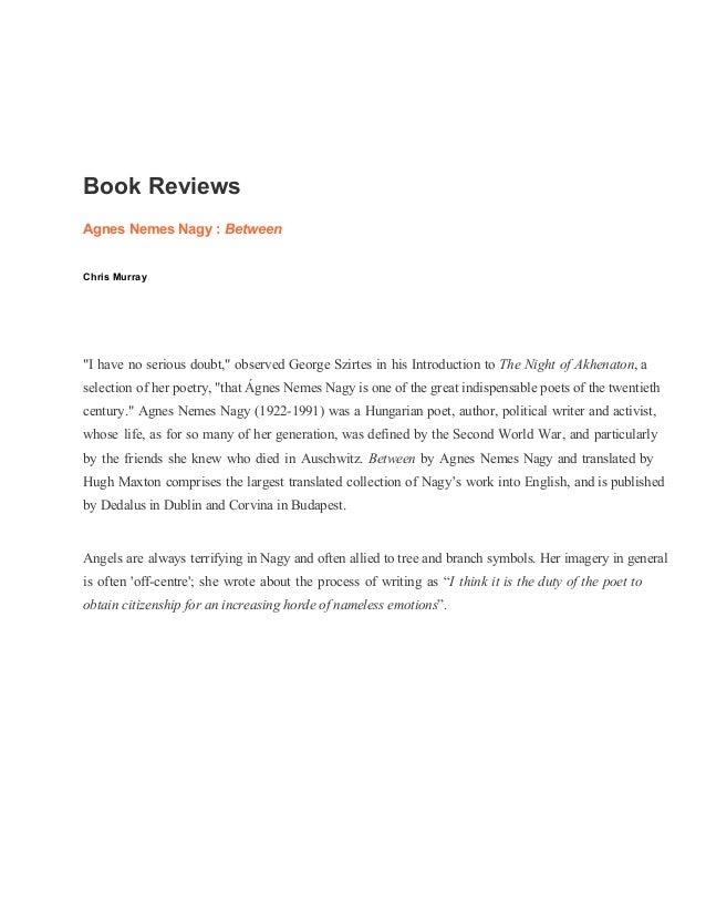 Poetry Ireland book reviews