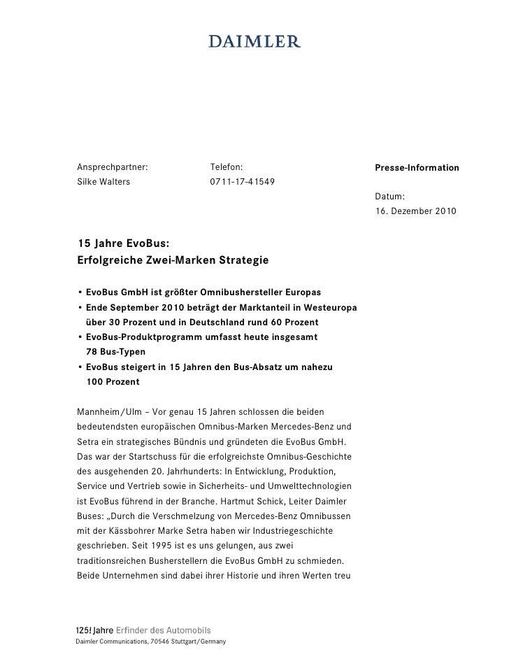 Ansprechpartner:                          Telefon:                  Presse-InformationSilke Walters                       ...