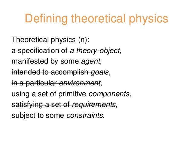 How do I structure a theoretical physics paper?