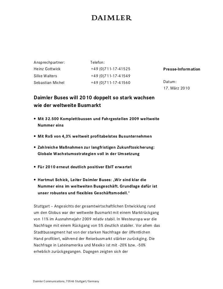 Ansprechpartner:                        Telefon:Heinz Gottwick                          +49 (0)711-17-41525            Pre...