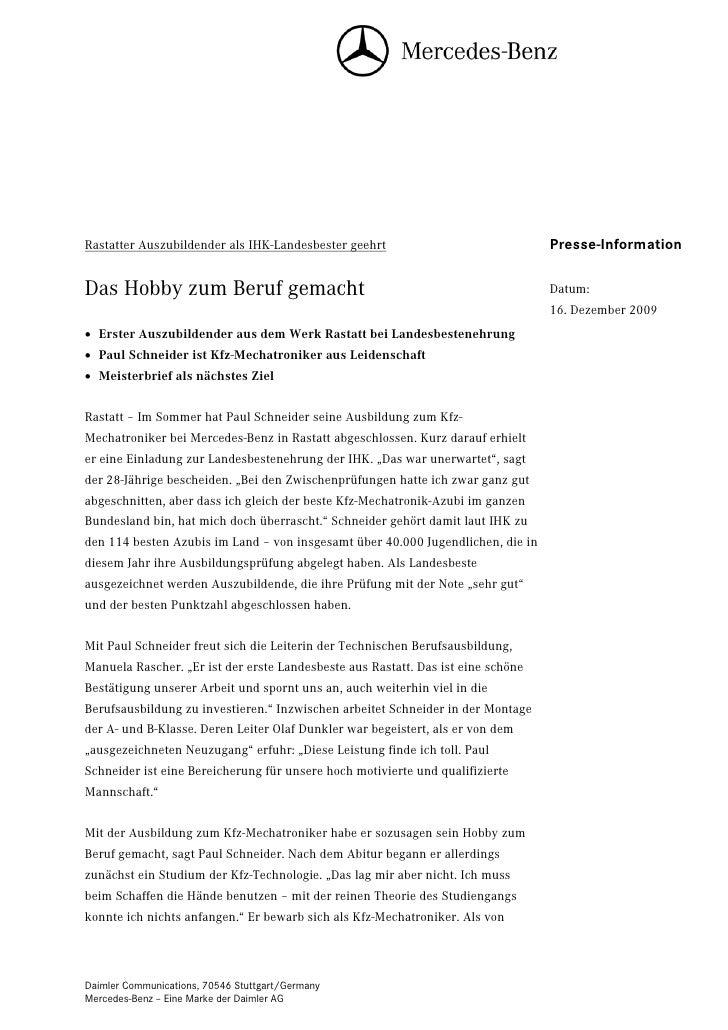 Rastatter Auszubildender als IHK-Landesbester geehrt                              Presse-InformationDas Hobby zum Beruf ge...