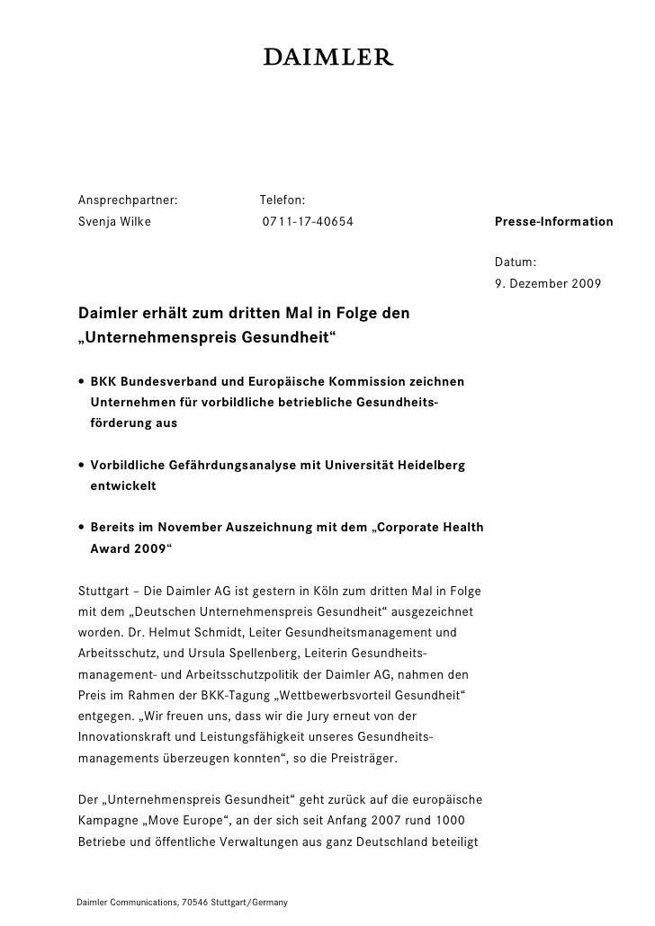 Ansprechpartner:                        Telefon:Svenja Wilke                            0711-17-40654                     ...