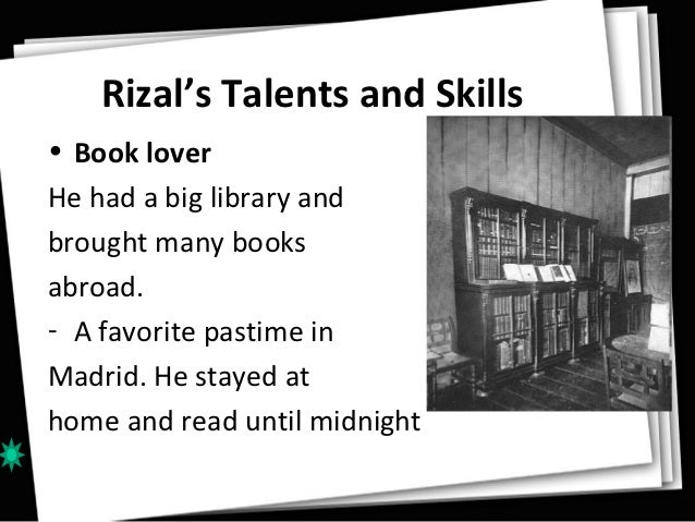 youth of past and today with influence of jose rizal Category: essays research papers title: jose p rizal title: length color rating : essay about rizal the subversive - rizal as a rational thinker during his life, jose rizal was described as a heretic and subversive, an enemy of both the church and spain he has made tremendous contributions to the progress of the filipino society.