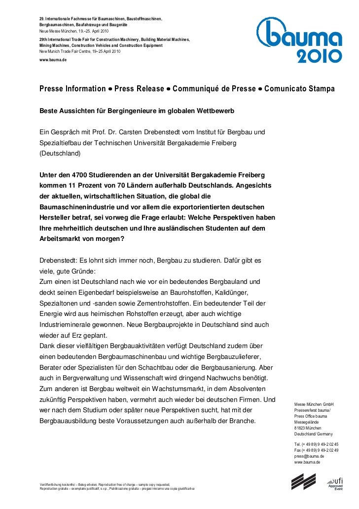 29. Internationale Fachmesse für Baumaschinen, Baustoffmaschinen,Bergbaumaschinen, Baufahrzeuge und BaugeräteNeue Messe Mü...