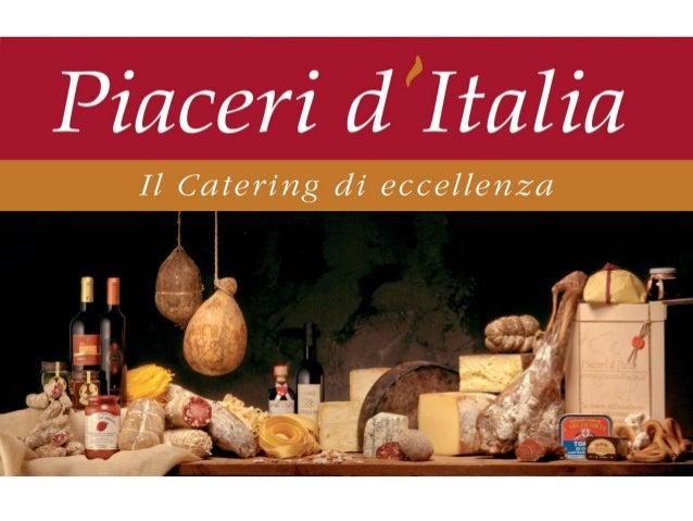 Piaceri d'italia identikit
