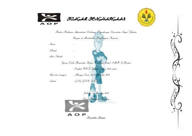 Contoh Piagam penghargaan futsal