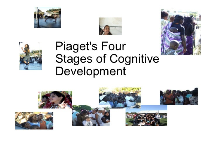 Piaget's Four Stages of Cognitive Development