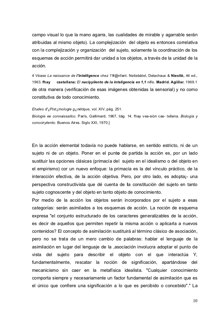 Piaget introducci�n a la epistemolog�a gen�tica introducci�n traduc�