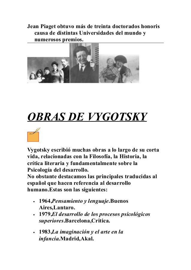 jean piaget vs vygotsky Start studying jean piaget and lev vygotsky learn vocabulary, terms, and more with flashcards, games, and other study tools.