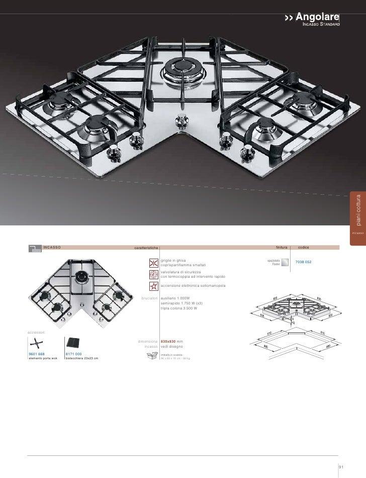 Piani Cottura Angolari ~ Ispirazione Design di casa