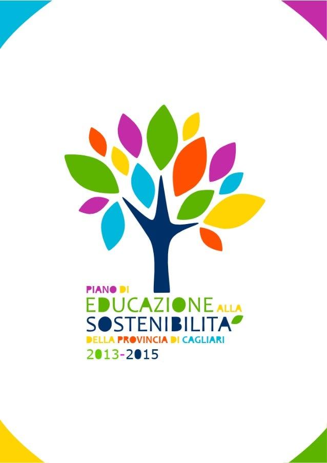Piano di Educazione alla Sostenibilità 2013/2015 della Provincia di Cagliari