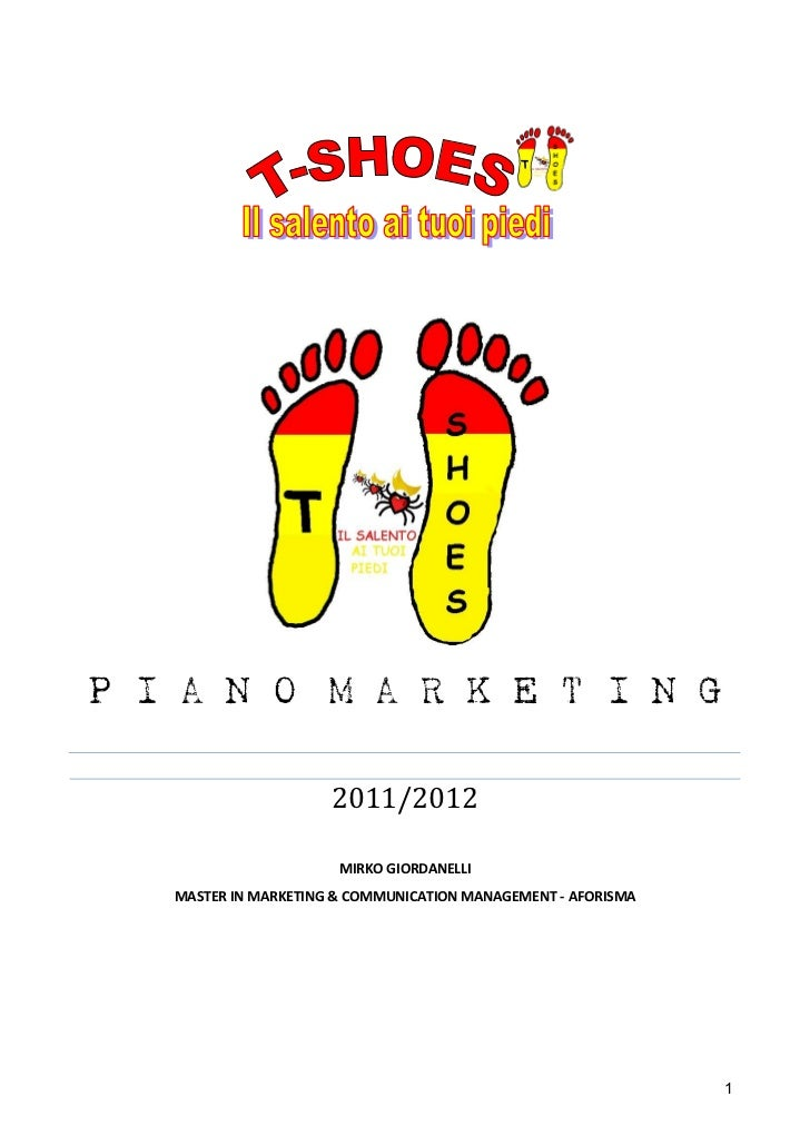 P I A N O M A R K E T I N G                      2011/2012                       MIRKO GIORDANELLI   MASTER IN MARKETING &...